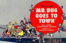 Mr Bug Goes To Town Poster