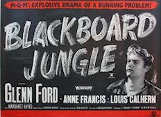 Blackboard Jungle Lobby Card cover