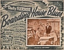 Boarding House Blues Lobby Card 1