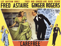 Carefree Lobby Card