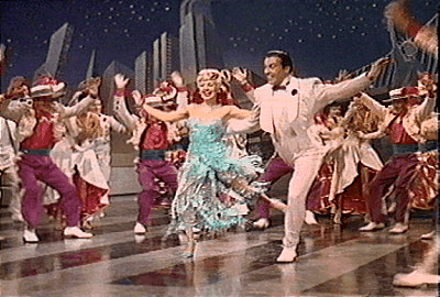 Down Argentine Way - Betty Grable and Cesar Romero dancing