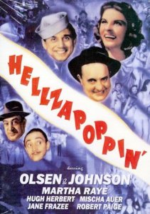The Legendary Whitey's Lindy Hoppers most famous dance routine was done in this Film 'Hellzapoppin'. Now available on DVD.