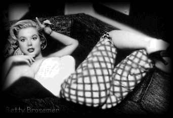Betty Bossemer Burlesque dancer photo