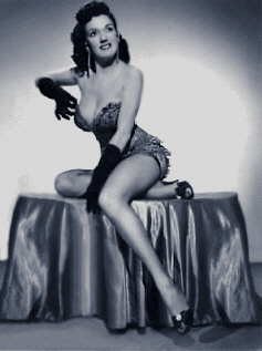 "Vintage Burlesque dancer ""Ann Perri"" Photo 2"