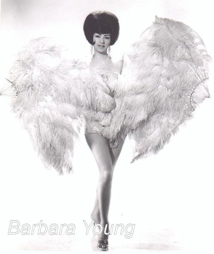 Barbara Young Burlesque dancer photo