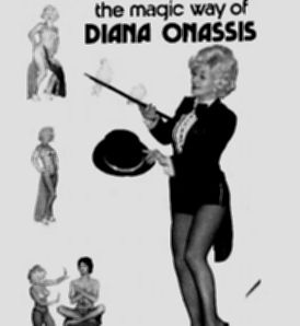 Dianna Onassis Burlesque dancer photo 1