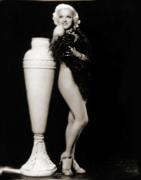 Burlesque Dancer: Hinda Wasson