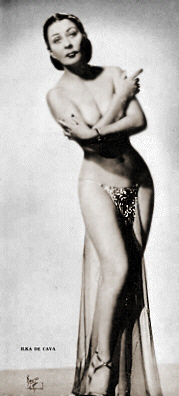 Photo of Burlesque Dancer: Ilka de Cava