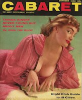 irma The Body Photo (Cabaret Cover Feb 1955)