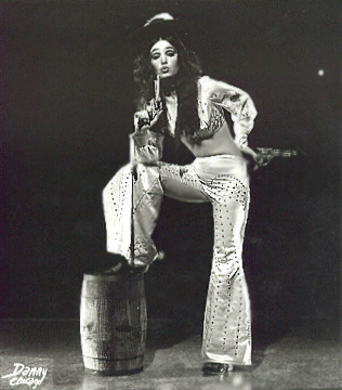 Jaime Winters Vintage Burlesque dancer photo 1