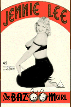 Jennie Lee Program Cover