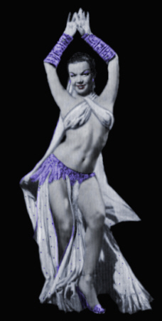 Nejla Ates Burlesque dancer photo 1