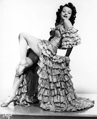 Burlesque stripper - Rose La Rose photo