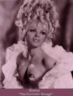 Sheena ... The 'Fantastic Savage' Vintage Burlesque dancer photo 1