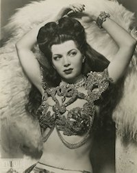 Burlesque stripper - Sherry Britton photo 2