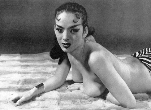 Burlesque stripper - Tura Satana photo
