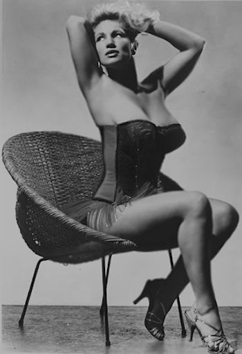 Burlesque Queen and legendary Striptease star - Virginia Ding-Dong Bell