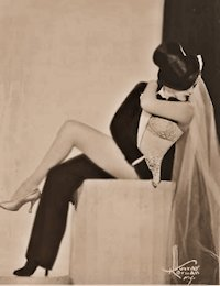 Burlesque stripper - ZORITA photo (Half and Half: Bride and Groom)