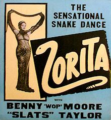 Zorita 'Snake Dance' Promo Advertisement