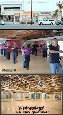 Every Wednesday: WCS at the ''LA Dance Sport Club'' 6015 Reseda Blvd, Tarzana, CA. Photo