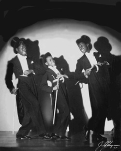 Flash Tap Dancers Ananias, Jimmy and Warren Berry ... aka The Berry Brothers