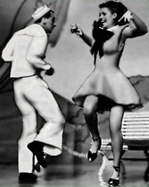 Jack Cole and Rita Hayworth dancing