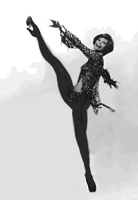 Juliet Prowse dancing