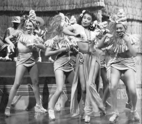 Lena Horne - 2nd from right (Panama Hattie film)