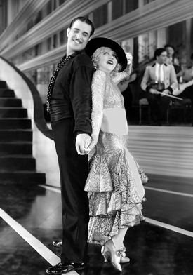 Mae Murray and Edmund Frazer in Peacock Alley 1922