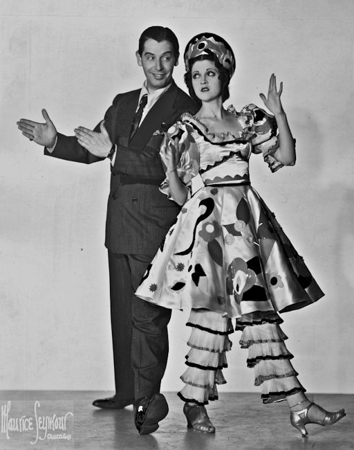 Milton Berle and Bernice Decker