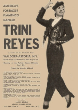 Trini Reyes at the Waldorf Astoria
