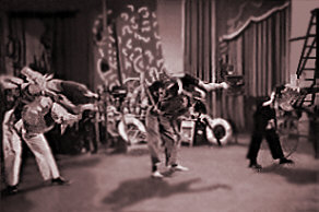 a scene from Hellzapoppin' featuring Whitey's Lindy Hoppers