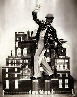 "Fred Astaire in his Bojangles of Harlem  tribute in ""Swingtime"" 1936"