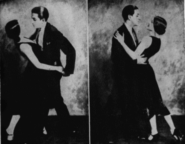 Rosita and Ramon Navaro Dancing together in the early 1920s.
