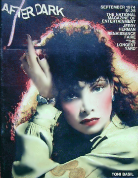 After Dark Magazine Cover with Toni Basil
