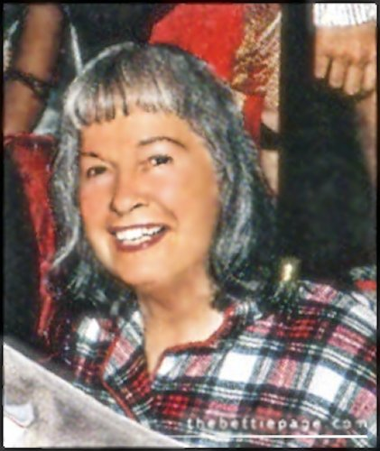 Betty Page at age 80