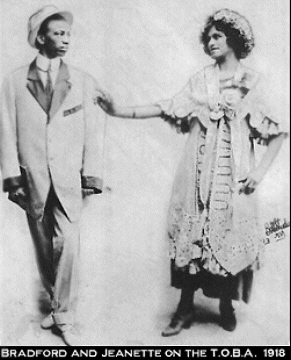 Perry Bradford  (1893-1970) and Jeannette