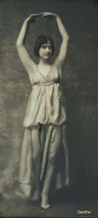 Anna Duncan. Photo by Goethe from NYPL