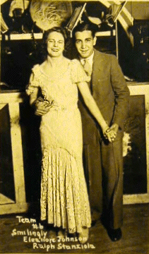 Eleanore Johnson and Ralph Stanziola