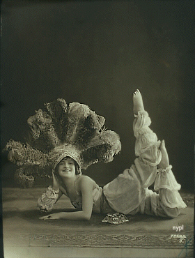 Daisy Morgan (photo NYPL)