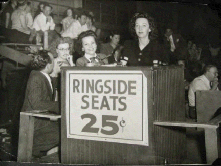 Ringside Seats at a Derby / Marathon