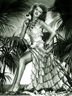 Rita Hayworth aka Rita Cansino promo photo