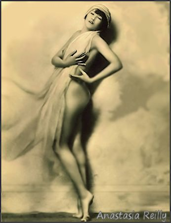 Anastasia Reilly ... Vintage  Ziegfeld Girl, Dancer, Showgirl, Actress photo 1
