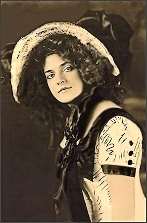 Annabell Whitford Moore ... Vintage  Ziegfeld Girl, Dancer, Showgirl, Actress photo 1