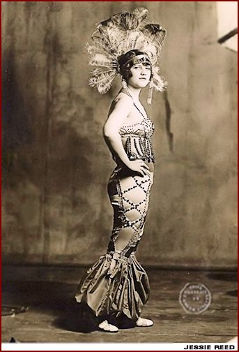 Jessie Reed ... Vintage Burlesque dancer, Actress photo 1