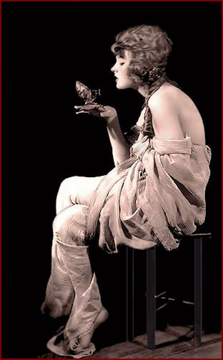 Katheryn Martyn ... Vintage Ziegfeld Girl photo 1