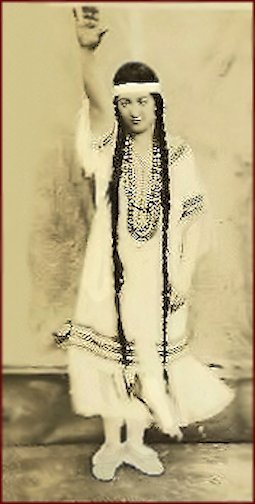 "Roxyette Dancer ... ""unknown photo."""