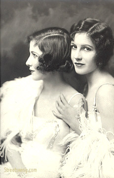 Madeline and Marion Fairbanks - Ziegfeld Girls, Actress and Dancers