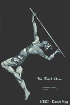 8/1924 Dance Magazine - Torch Dancer