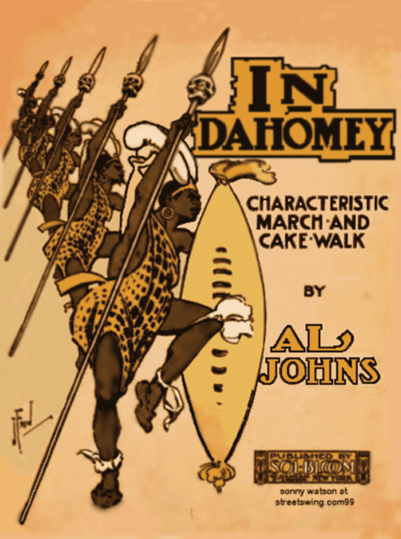 In Dahomey Sheet Music Cover by Al Johns